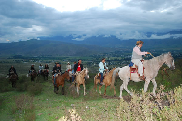 Horseriding in Estancia Las Carreras